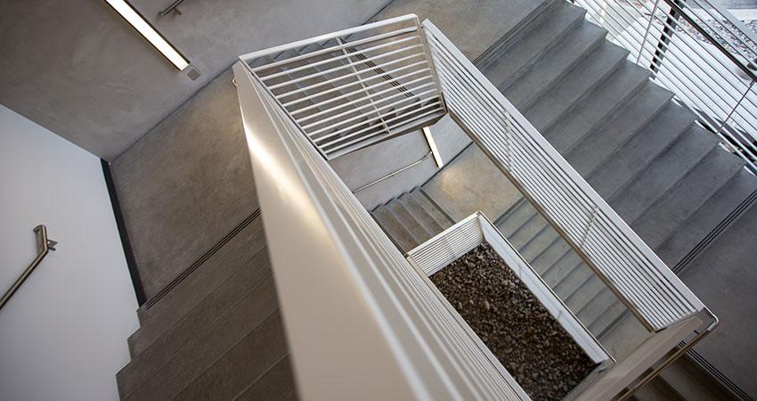 Favorit Treppen aus Beton - Luipold Bau DD29